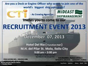 Myrene recruiting event